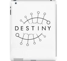 Destiny (Black) iPad Case/Skin
