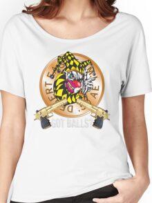 Evil Clown T Shirt Desert Eagle Tiger Women's Relaxed Fit T-Shirt