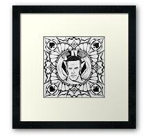 """Jules Dash, AKA: Adam Carolla"" Framed Print"