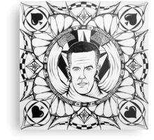 """""""Jules Dash, AKA: Adam Carolla"""" Metal Print"""