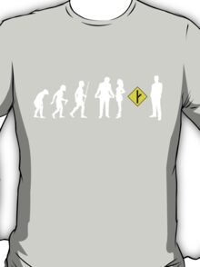 The Evolution of Man and MGTOW T-Shirt