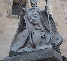 Pope John Paul by guera