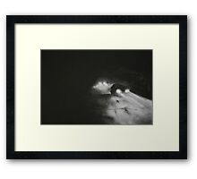 Night Driving. Are We There Yet Framed Print
