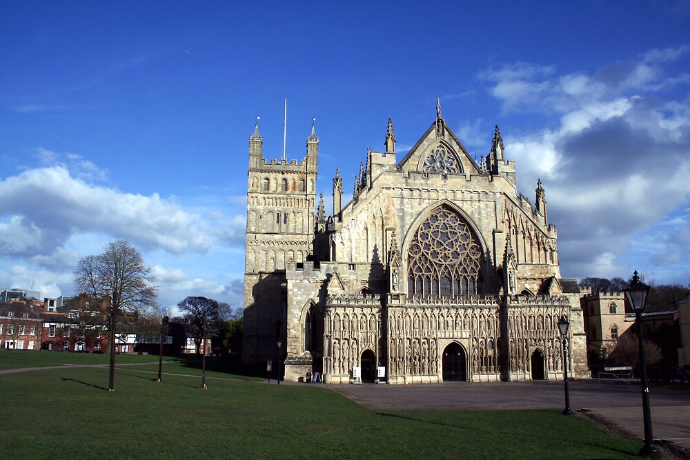 exeter cathedral by alixlune
