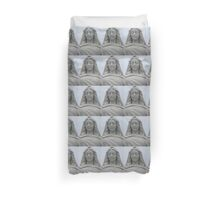 FACE OF COMPASSION Duvet Cover