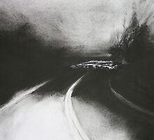 Night Driving II Homeward Bound by Sandra Wilson