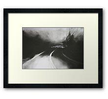 Night Driving II Homeward Bound Framed Print