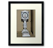 Weight for me!  Framed Print