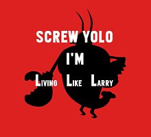 Screw Yolo (WHITE TEXT) Unisex T-Shirt