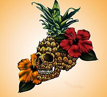 PineappleSkull by Schoolboy Qreu