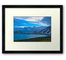 Kolgrafafjordur, Grundarfjordur, Snaefellsnes, Iceland Framed Print