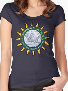 Elephant Conservation T Shirt Women's Fitted Scoop T-Shirt
