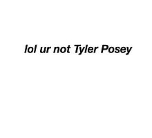lo ur not tyler posey by KittyFlop