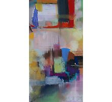 Soft Pastel Abstract Photographic Print