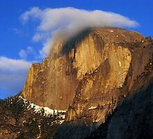 Half Dome at Twilight by Mark Ramstead