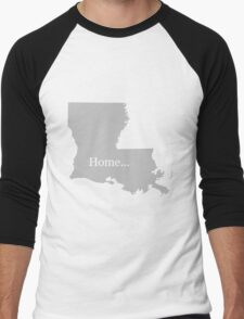 Louisiana Home Tee Men's Baseball ¾ T-Shirt