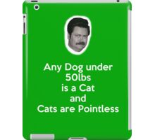 Dogs and Cats iPad Case/Skin