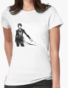 Simple Sebastian Michaelis Womens Fitted T-Shirt
