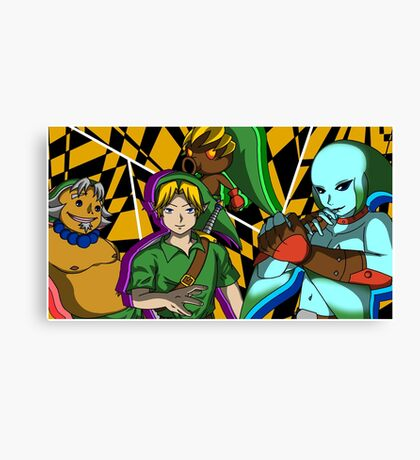 Majora's Mask All-out Attack Canvas Print