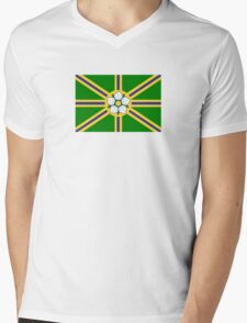 Flag of Abbotsford  Mens V-Neck T-Shirt