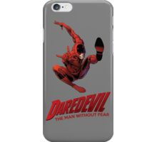 Daredevil The Man Without Fear iPhone Case/Skin