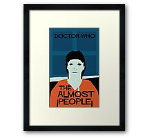 The Almost People Framed Print