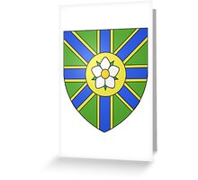 Abbotsford Coat of Arms Greeting Card
