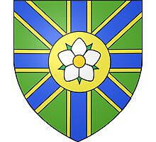 Abbotsford Coat of Arms Photographic Print