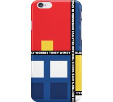 Mondrian Who iPhone Case/Skin