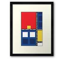 Mondrian Who Framed Print