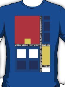 Mondrian Who T-Shirt