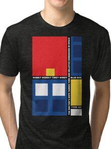 Mondrian Who Tri-blend T-Shirt