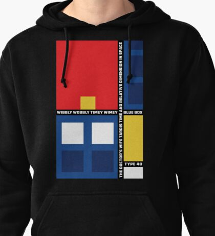 Mondrian Who Pullover Hoodie