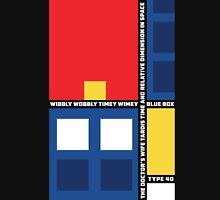 Mondrian Who Hoodie