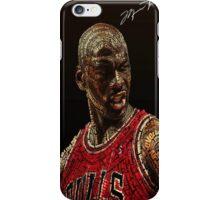 Michael Jordan Chicago Bulls iPhone Case/Skin