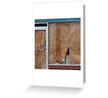 Water Stains Greeting Card