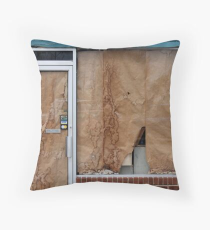 Water Stains Throw Pillow