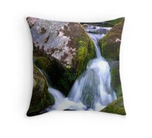 Between the Rocks Throw Pillow