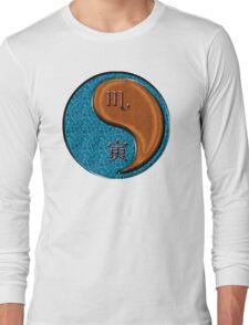 Scorpio & Tiger Yang Wood Long Sleeve T-Shirt