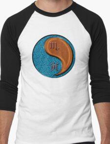 Scorpio & Tiger Yang Wood Men's Baseball ¾ T-Shirt