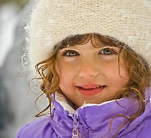 A snow angel by deahna