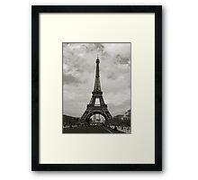 Eiffel Tower, Paris. Framed Print
