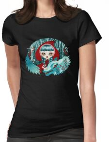 Red of the Woods Womens Fitted T-Shirt