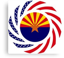 Arizonan Murican Patriot Flag Series Canvas Print
