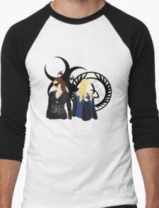 Clexa - When Worlds Collide  Men's Baseball ¾ T-Shirt