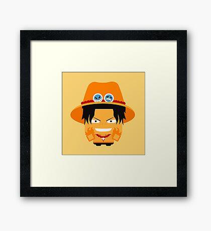 Ace One Piece Framed Print