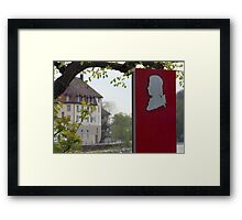 Mozart was here! Framed Print