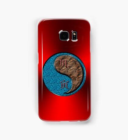 Scorpio & Tiger Yang Earth Samsung Galaxy Case/Skin