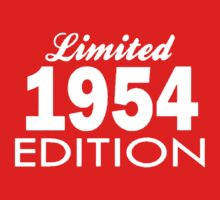 Limited Edition 1954 Kids Clothes