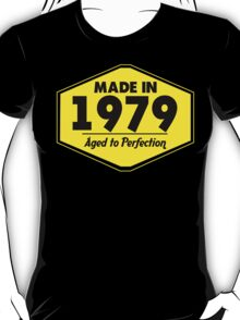 """""""Made in 1979 - Aged to Perfection"""" Collection #51060 T-Shirt"""